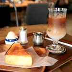 グッドネイバーズコーヒー - モーニング Bセット (好きなドリンクにプラス108円) '16 9月中旬