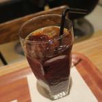 イズマイ - スイーツ・セット:チョコレート・スコーン、イズマイブレンド アイスコーヒー4