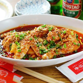 300種の料理群【本場中国の味をそのまま提供】