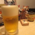 薬膳スープカレー・シャナイア - ハートランドの生ビール 600円