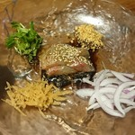悠 - 鯛の中華風たたき