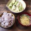 BOOZA - 料理写真:アレンジ水餃子定食
