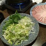 59467244 - 野菜も食べ放題