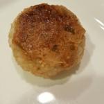 おむすびcafe 粒 - 料理写真:玄米焼き味噌 160円