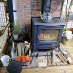 59475509 - 暖炉があります
