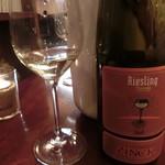ル ヴェール フレ - フランスワイン。辛口のリースリング。