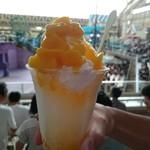 デザートパラダイス パオ - 料理写真:ホイップかき氷・マンゴー(450円)