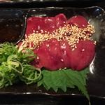 鶏焼 悠楽 - 鶏レバー700円