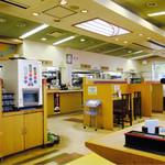 桂川パーキングエリア(下り線)スナックコーナー - 店内