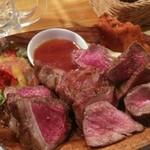 59482314 - 250g肉盛りランチ950円