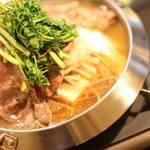 厨 七代目松五郎 - 料理写真:特選塩すき鍋