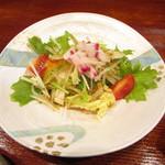 天ぷら 天介 - サラダ