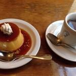 59482858 - プリン&ブレンドコーヒー