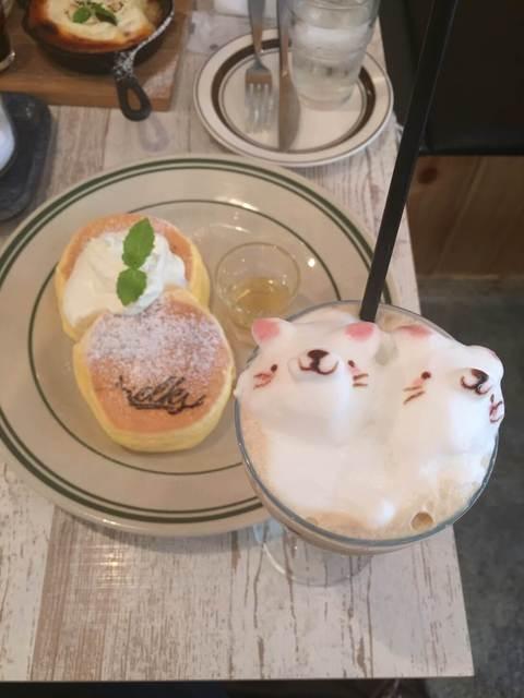 elk 名古屋店 - パンケーキとアイスの3Dアート