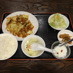 成都 - 四川風回鍋肉定食