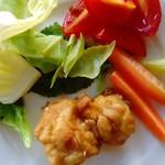59487915 - 前菜のサラダ