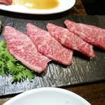 焼肉×バル マルウシミート - リブカブリ800円