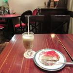 亜麻亜亭 - イチゴのチーズタルト、アイスオ・レ