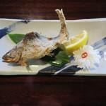 59490559 - 山女魚の塩焼き 570円