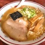 まつだいドライブイン - 料理写真:しょうゆラーメン(500円)
