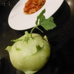 TANTO屋 - コールラビは、こんなお野菜だそうです 2016.11