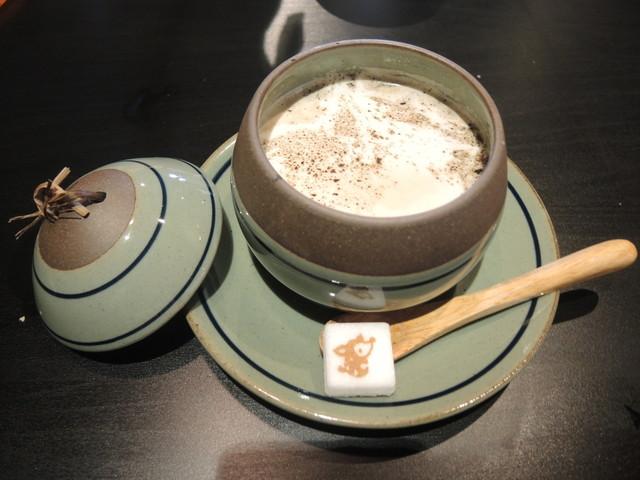 カフェ コジカ - ほうじ茶ラテ