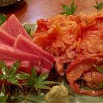 与太呂 - 本鮪大トロと赤貝