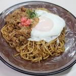 ちとせ - 肉玉子焼そば(並570円)