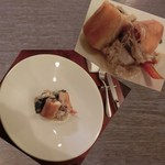 Le Vert Frais - 本日の鮮魚料理。スズキの パートブリック包み。