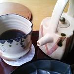 廚菓子くろぎ - セットの珈琲