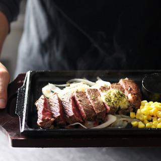 岡山県産美咲姫牛ローストビーフ&新潟県雪室熟成ステーキが人気