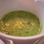 リストランテ・マッサ - 050515マッサ小松菜とめかぶの冷製スープ.jpg