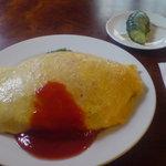 ビリケン食堂 - (やや太めの)オムライス