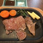 竹田屋 - 但馬牛ロースステーキ100g交換前