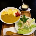 かふぇオハナ - 水曜日『かふぇオハナ』ある日のランチ ¥700(税込)この他、ホットコーヒーも付いてます