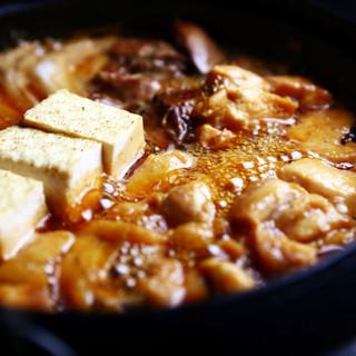 【必食】ご予約限定鶏すき鍋コース3800円