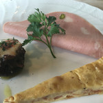 59505204 - イタリアのソーセージ。キッシュ。マッシュルームのオーブン焼き。