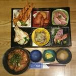 づけ丼屋 桜勘 - 桜勘四季彩御膳