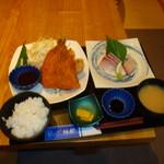 づけ丼屋 桜勘 - アジフライ定食