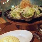 パスタンティーコ - 蟹味噌シーザーサラダ
