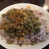 Yadokarishokudou - 料理写真:豚と豆のキーマカレー