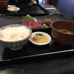 にっぽん漁港食堂 - (2016年11月)ご飯セット