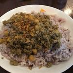 ヤドカリ食堂 - 豚と豆のキーマカレー