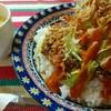 ココティーダ - 料理写真:【ランチメニュー】沖縄タコライス(スープ・ドリンク付き)税込¥800