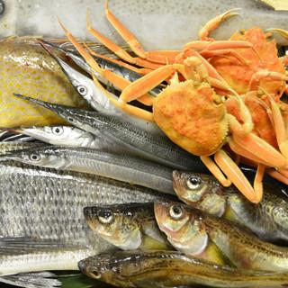 とれたて鮮魚をご提供します