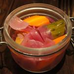 TORO - 自家製彩野菜のピクルス