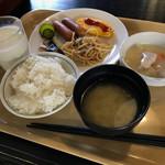 ホテル ルートインコート山梨 - 料理写真:朝食バイキング