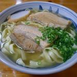 アワセそば食堂 - 平麺