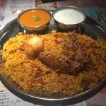ラフィー インディアンレストラン - チキンビリヤニ