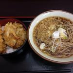 天かめ - 天丼セット(500円)
